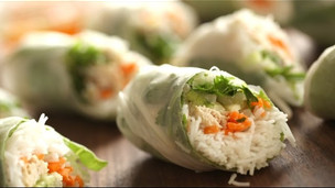 Thumbnail image for Chicken Summer Rolls