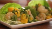 Avocado, Mango and Shrimp Salad