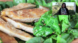 Thumbnail image for Chicken Salad with Sesame-Miso Dressing
