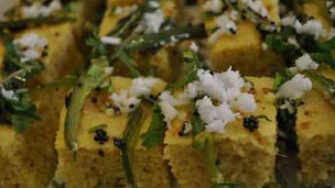 Indian Khaman Gujarati Appetizer
