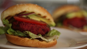 Thumbnail image for Skillet Veggie Burger Recipe