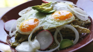 Thumbnail image for Chilaquiles Verdes With Fried Eggs