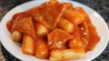 Korean Spicy Rice Cake