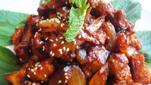 Korean Spicy Stir-Fried Pork