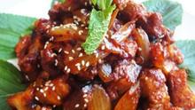 Korean Spicy Stir-Fried Pork