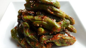 Thumbnail image for Korean Steamed Shishito Peppers