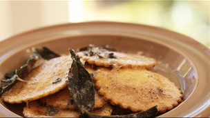Thumbnail image for Squash Ravioli With Brown Butter Sage Sauce