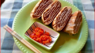 Thumbnail image for Chinese Fried Beef Pancakes