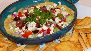 Thumbnail image for Easy Greek Layered Dip
