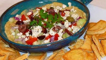 Easy Greek Layered Dip