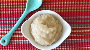 Thumbnail image for How to Make Roast Ginger Apple Puree