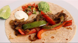 Homemade Steak Fajitas Recipe