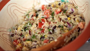 Thumbnail image for Mexican Quinoa Salad & Vinaigrette (Cilantro Lime)