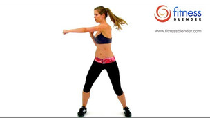 Thumbnail image for Kelli's Cardio Kickboxing Workout - Max Calorie Burn Workout with no Equipment