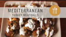 Mediterranean Turkey Meatball