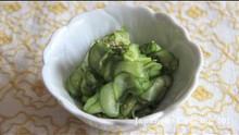 Japanese Salad Sunomono