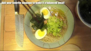 Thumbnail image for How to make Japanese Shio Ramen