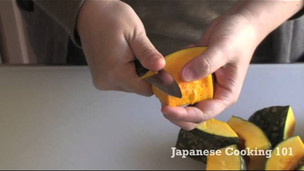 Thumbnail image for Kabocha no Nimono (Japanese Simmered Pumpkin)