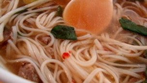 Thumbnail image for Faux Pho -  Spicy Vietnamese Beef Noodle Soup
