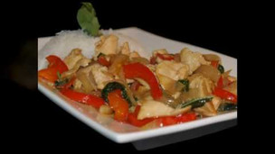 Thumbnail image for Spicy Thai Basil Chicken