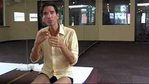 Thumbnail image for Bikram Yoga's Balancing Stick Posture