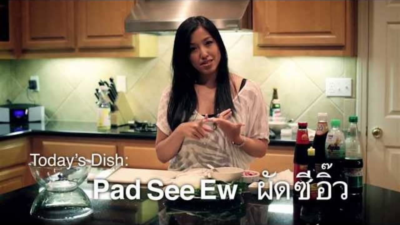 Pad See Ew - Hot Thai Kitchen! - Cooking Videos | Grokker