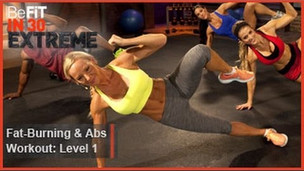 Thumbnail image for Fat Burning and Abs Workout Level 1