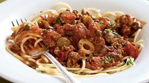 Thumbnail image for Spanish Spaghetti with Olives