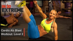Thumbnail image for Cardio Ab Blast Workout | Level 2- BeFit in 30 Extreme