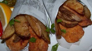 Thumbnail image for Oven-Fried Gluten Free Fish and Chips