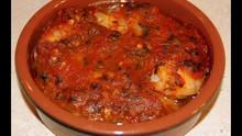 Moroccan Shrimp Pil Pil Style