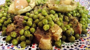 Thumbnail image for Tajine of Beef with Green Peas and Artichokes