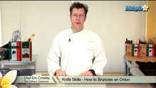 How to Brunoise an Onion