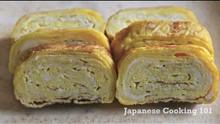 Japanese Tamagoyaki (Pan Fried Rolled Egg)