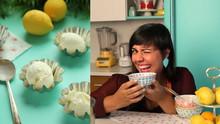 How To Make Lemon Frozen Yogurt