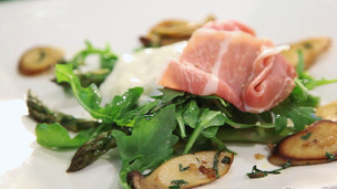 Burrata Prosciutto Salad