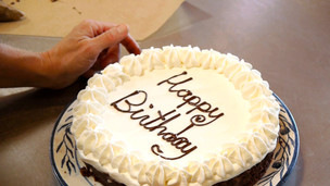 "Thumbnail image for ""Happy Birthday"" on Cake"