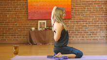 Yin Yoga for the Neck and Shoulders