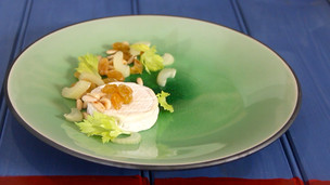 Thumbnail image for Goat Cheese with Brandy Soaked Raisins