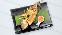 Crispy Fried Sea Bream