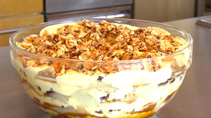 Fall Fruit Trifle