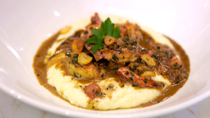 Thumbnail image for Barbecue Shrimp & Grits