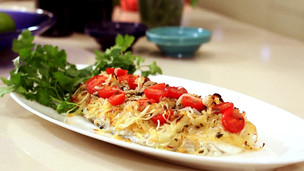 Thumbnail image for Baked Halibut Alla Nonna