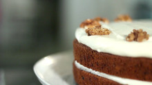 Rum & Spice Carrot Cake