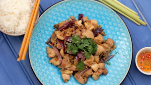 Thumbnail image for Vietnamese Lemongrass Chicken
