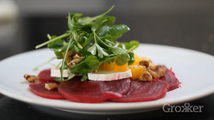 Goat Cheese, Beetroot and Walnut Salad