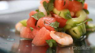 Cool Caribbean Prawn and Watermelon Salad
