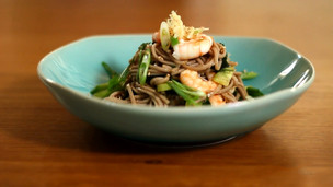Soba Noodles with Prawns