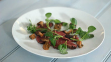 Seared Venison with Miso