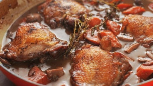 Thumbnail image for How to Make Coq au Vin (Chicken and Wine)